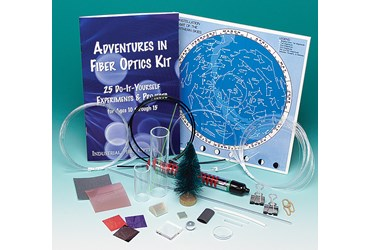 Fiber Optics Kit for Physical Science and Physics