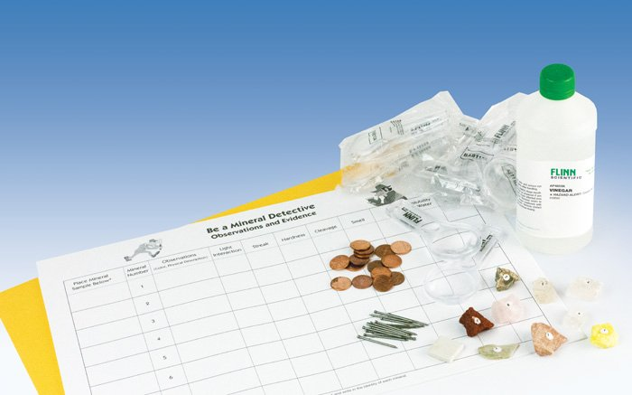 Be A Mineral Detective Student Laboratory Kit