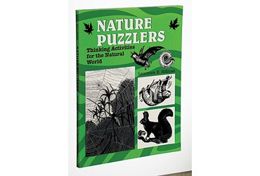 Nature Puzzlers Biology Activity Book