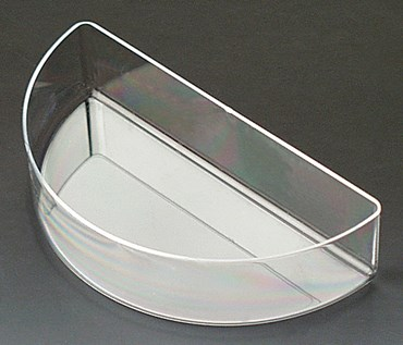 Semicircle Refraction Dish for Optics Demonstration