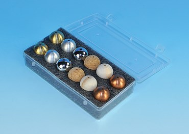 Drilled Ball Set for Physical Science and Physics