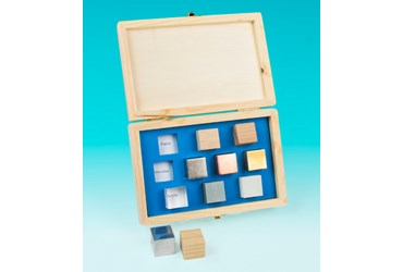 Lab Density Cube Set for Physical Science and Physics
