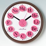 Atomic Clock Chemical Element Decals