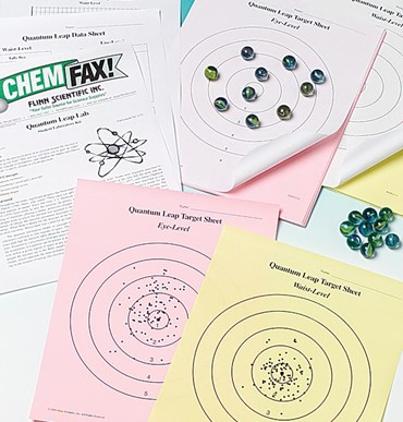 Target Sheets Refill Package for Quantum Leap Atomic Structure Laboratory Kit