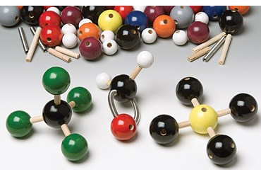 Advanced Wooden Molecular Model Set