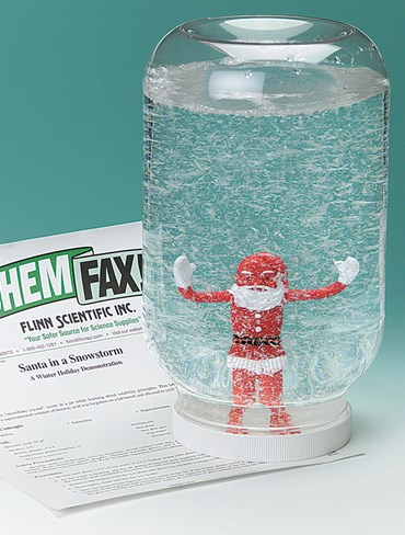 Santa in a Snowstorm Chemical Demonstration Kit