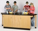 Flinn Combination Classroom Table and Lab Bench for Science