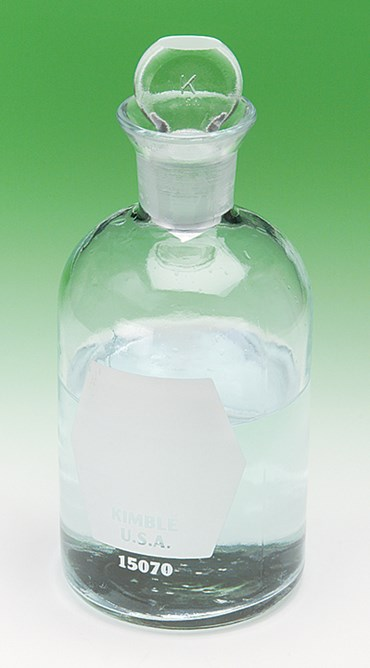 BOD Bottle for Field Studies and Water Sampling in Environmental Science