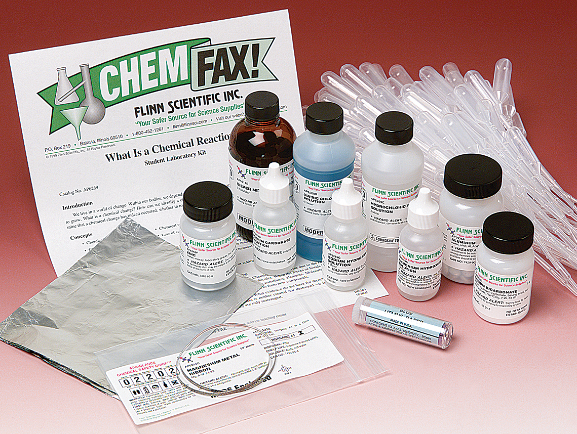 What is a chemical reaction student laboratory kit robcynllc Choice Image