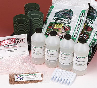 Acid Rain and Plants Laboratory Kit for Environmental Science