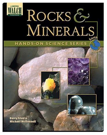 Rocks and Minerals Book for Earth Science and Geology