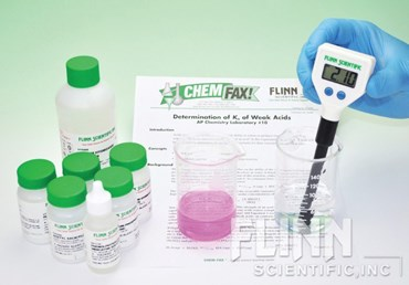 Determination of Ka of Weak Acids Classic Lab Kit for AP* Chemistry