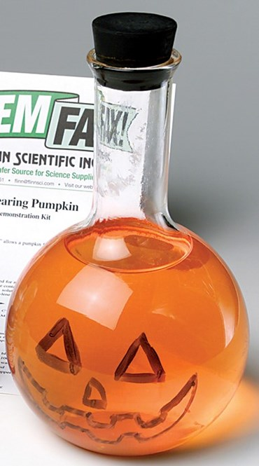 The Reappearing Pumpkin Chemical Demonstration Kit