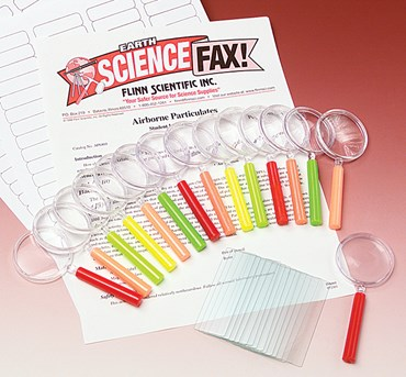 Airborne Particulates Laboratory Kit for Environmental Science