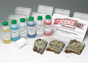 Environmental Pollution and Lichens Laboratory Kit for Environmental Science