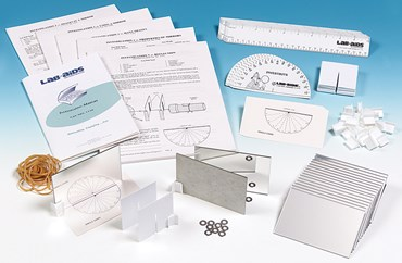 Investigating Mirrors Optics Laboratory Kit for Physical Science and Physics