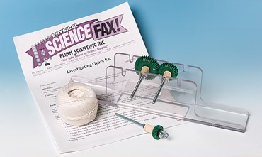 Investigating Gears and Simple Machines Physical Science and Physics Laboratory Kit