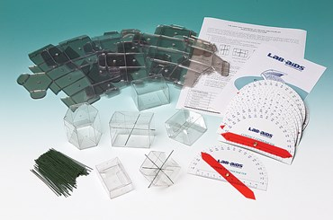 Geometry of Crystal Structure Kit for Geology and Earth Science
