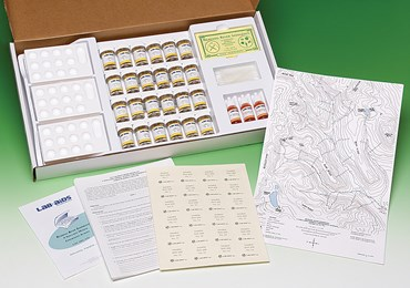 Reading River Sediments Experiment Kit for Geology