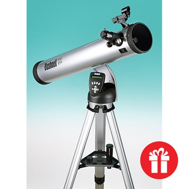 Bushnell® Reflector Telescope, 114 mm, for Astronomy and Space Science