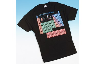 Glow in the Dark Periodic Table T-Shirt