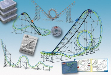 K'NEX Roller Coaster Kit for Physical Science and Physics