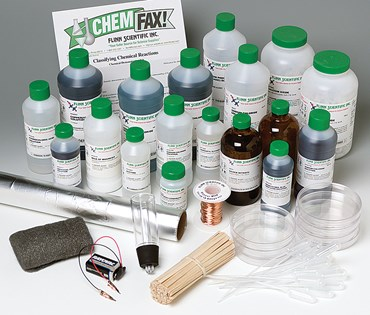 Classifying Chemical Reactions Chemical Demonstration Kit