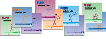 Flinn ChemTopic Labs™ Boxed Set of Lab Manuals, Volumes 1-9