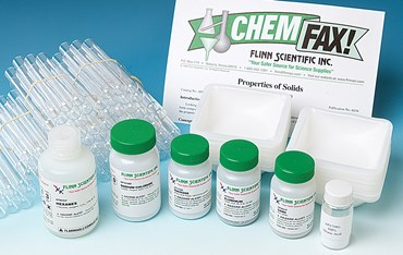 Properties of Solids Chemistry Laboratory Kit