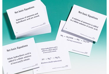 Net Ionic Equations Flash Cards for AP® Chemistry