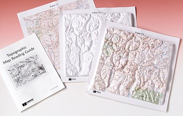 Topographic Map Reading Kit for Earth Science