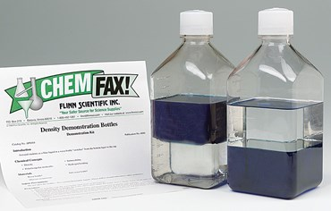 Density Demonstration Bottles Kit