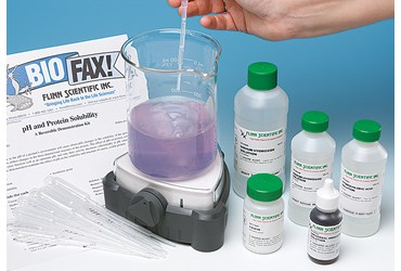 pH and Protein Solubility Reversible Biochemistry Demonstration Kit