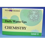 Daily Warm-ups for Chemistry Activity Book and Lab Manual