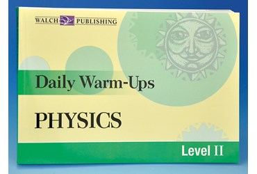 Daily Warm-ups for Physics Activity Book and Lab Manual
