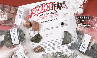 Density of the Earth Geology Laboratory Kit for Earth Science