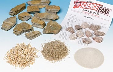 Bits and Pieces - Sediment and Geology Laboratory Kit for Earth Science