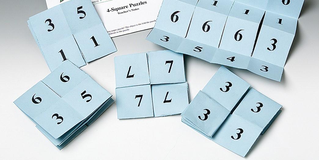 4-Square Number Puzzles—Super Value Kit