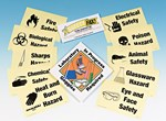 Science Laboratory Safety Symbols Signs and Posters
