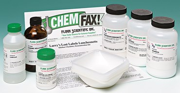 Larry's Lost Labels Luncheonette Scientific Method Chemical Demonstration Kit
