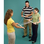 Human Block and Tackle Pulley Demonstration Kit for Physical Science and Physics
