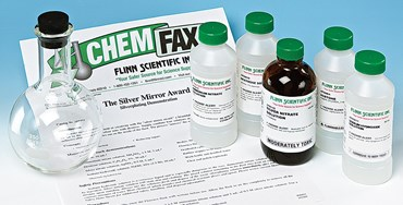 The Silver Mirror Award Oxidation-Reduction Chemical Demonstration Kit