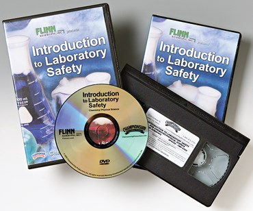 Flinn Introduction to Laboratory Safety DVD for Chemistry and Physical Science