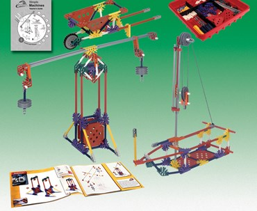 K'NEX Introduction to Simple Machines, Levers and Pulleys Kit for Physical Science and Physics