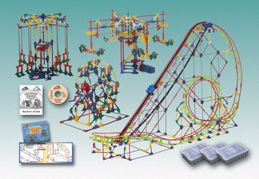 K'NEX Amusement Park Experience Kit for Physical Science and Physics