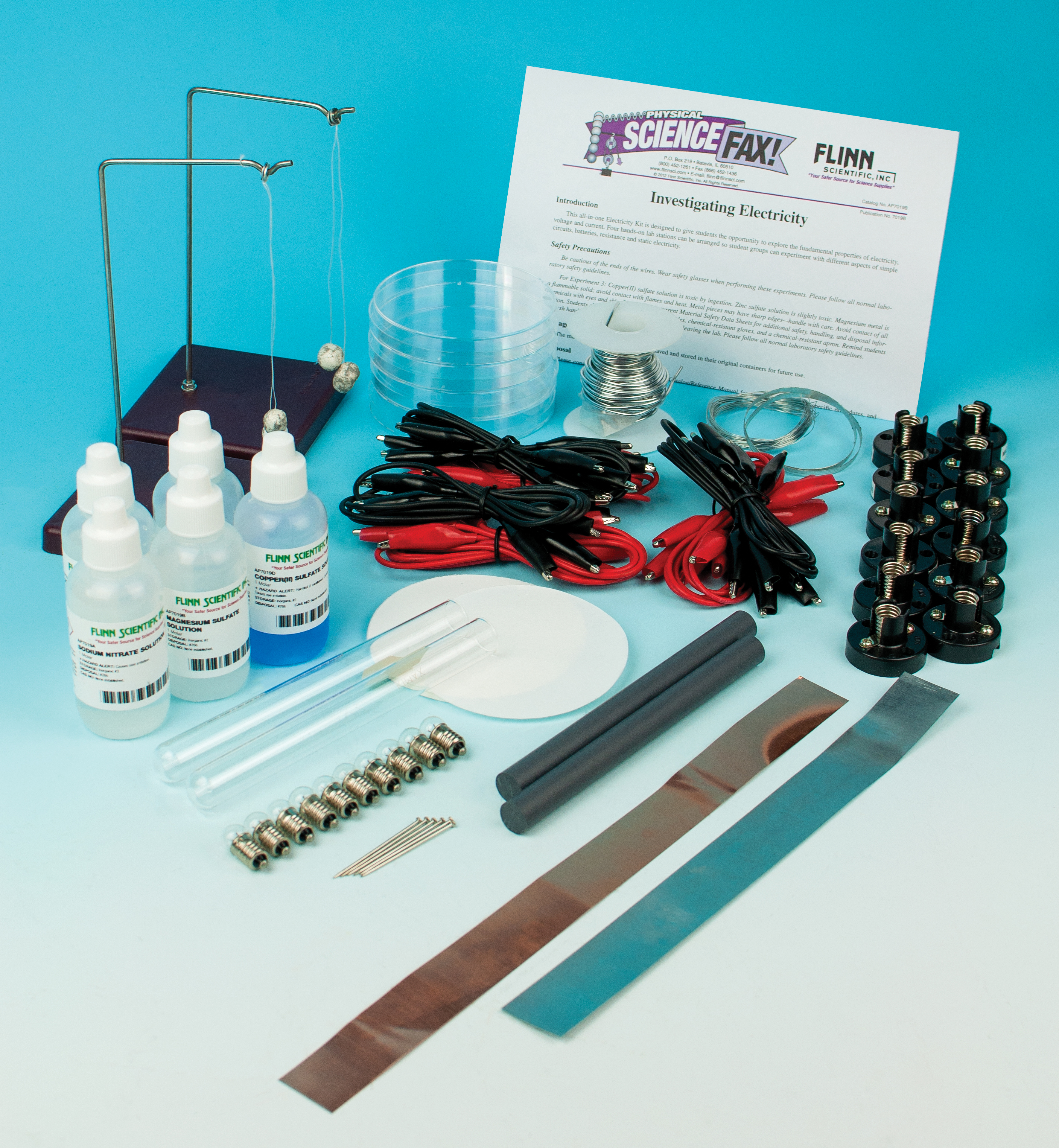 Investigating Electricity - Activity-Stations Kit