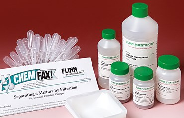 Separation of a Mixture by Filtration Chemistry Laboratory Kit