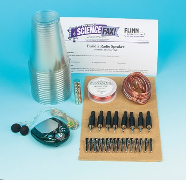 Build a Radio Speaker Electricity and Circuits Laboratory Kit