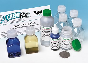 Cleaning Up with Iron Permeable Reactive Barriers Chemical Demonstration Kit