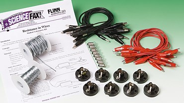 Resistance in Wires Electricity and Circuits Laboratory Kit